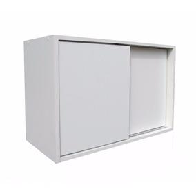 Armario Multiuso 100% Mdf 45x70x28cm Porta De Correr