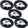 5 Cable Jack Canon A Plug Canon 6 Metros Conectores Xlr Dmx