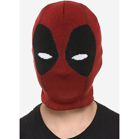 Deadpool Beanie Gorro Cosplay Hot Topic 0491a1886ac