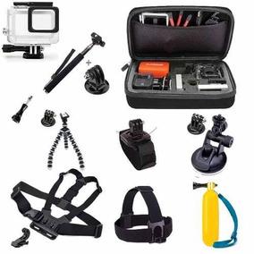 Suportes Sports Cameras Kit Go Pro Hero 2 3+ 3 4 5 Black