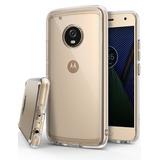 Funda Case Ringke Fusion Motorola Moto G5 Plus + Mica