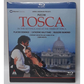 Blu-ray Placido Domingo -puccini Tosca- En Stock