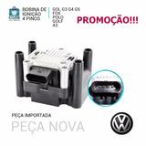 Bobina De Ignição Gol Power Fox Polo Bora Audi Golf Giv 1.6