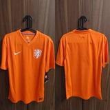 Camisa Da Holanda Copa De 2014 - Original Pronta Entrega