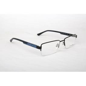 Armação Oculos Grau Atitude At1616 09a Preto Azul Fosco 8a0010595c