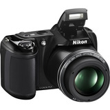 Camara Nikon Coolpix L340 20,2mp 720p/30fps 26484