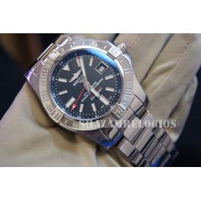 b1af0c989a8 Relógio Eta Breit Avenger Ii Gmt 42mm Preto