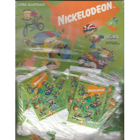 Album Livro Ilustrado Nickelodeon Lacrado Frete Grátis
