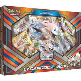 Box Cards Pokémon Lycanroc-gx