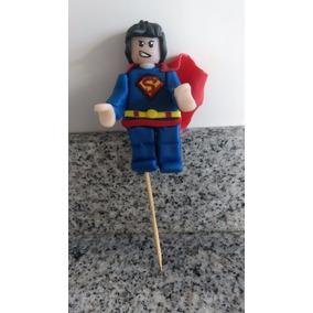 Adorno Tortas Porcelana Fria. Decoración. Star Wars/superman