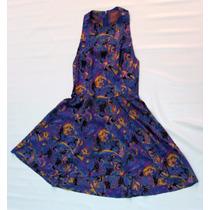 Vestido Violeta Hippie Chic Colorido Armado Envios