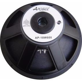 Parlante Woofer Apogee Ap18 600 Watts 18 Pulgadas 8 Ohms
