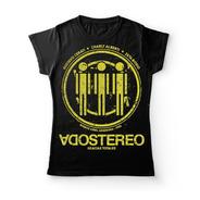 Camiseta Mujer Soda Stereo Gracias Totales Rock Activity