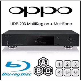 Blue Ray Player Oppo Udp-203 4k Desbloqueado Pronta Entrega!