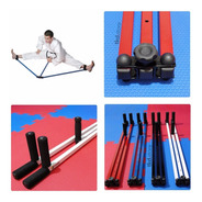 Aparelho Abertura Pernas Aumento De Flexibilidade Espacate Lateral Fisioterapia Pilates Artes Marciais Mma Tkd Kung Fu