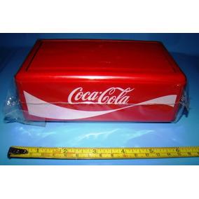 1 Servilletero Coca Cola Plastico Original Retro Vintage