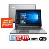 Notebook Lenovo Ideapad 320 Core I7 4gb Tela 15.6 Full Hd