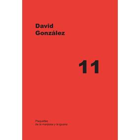 Plaquette De Poesía 11- David Gonzalez- Viedma Argentina