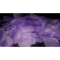 Petalos De Rosas Artificial De Tela 150 U Lilia Violeta