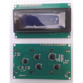 Pantalla Lcd20x4 Hd44780 Fondo Azul + Tutoria Arduino