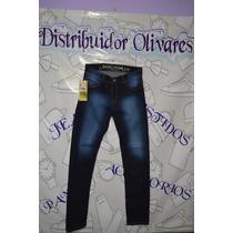 Jeans De Caballero Strech