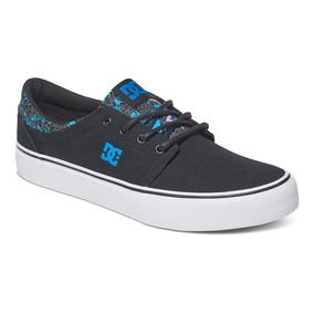 Zapato Tenis Hombre Caballero Trase Tx Se Bfl Negro Dc Shoes
