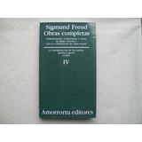 Amorrortu Obras Completas Iv Freud James Strachey La Interpr