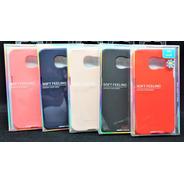 Funda Protector Galaxy S6 Goospery Soft Feeling Jelly Case