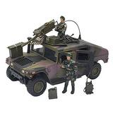 Humvee Hummer Militar Camuflado Soldados Armas Estilo Gi Joe