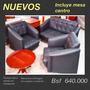 Muebles Modulares Semicuero Negro Nuevos Mueble Modular