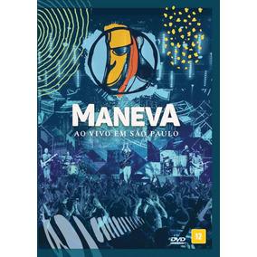 Dvd Maneva - Ao Vivo Em São Paulo