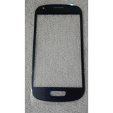Mica Samsung S3 Mini I8190 I8200 Vidrio Azul