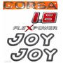 Emblemas Corsa Hatch 1.8 Flexpower + Joy Preto - 2003 À 2007