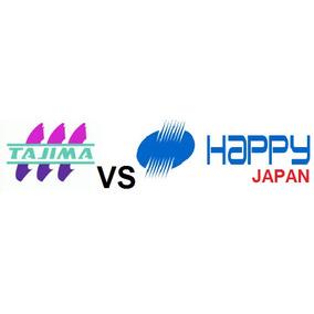 Compare Maquinas Bordadoras Tajima Happy Ponchados $100 C/u