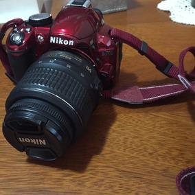 Maquina De Fotos Nikon D 3100 Con Lentes 18 A 55