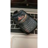 Funda Clip Triple Uso Rudo Para Blackberry 9620 Nextel Negro