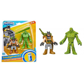 Boneco Imaginext Batman E O Monstro Do Pantano Fisher Price