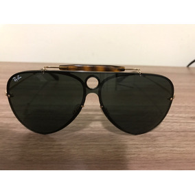 Óculos Ray Ban Rb3138 001 Shooter Arista Frame With G - Óculos De ... 80da2fbd28
