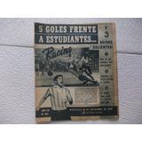 Revista Racing1105 Nov1964tapa Cardenas/ Estudiantes Ref1/1)