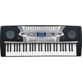 Teclado Musical Organo Mk2061 54 Teclas Display Lcd Tonos