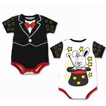 Body Para Bebê Infantil Fantasia Mágico