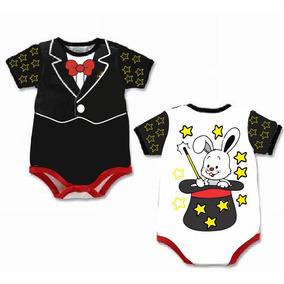 Body Para Bebê Infantil Fantasia Mágico C/frete Econômico