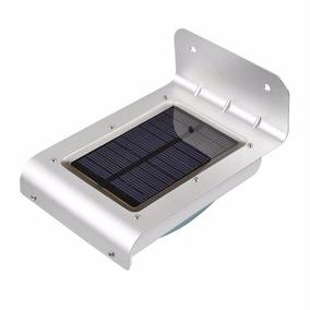 Lampada Solar 24 Leds Sensor Movimento Pronta Entrega