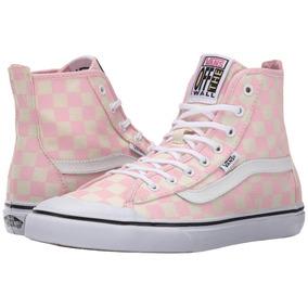 Tênis Dazie Hi Checkered Barely Pink Feminino