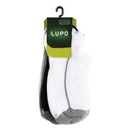 Meia Lupo Au Sport Adulto Soquete Kit C/ 3 Unidades Original