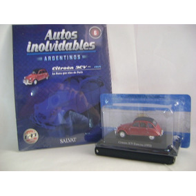 Nico Citroen 3cv Autos Inolvidables Salvat 1/43 (avv 34b)