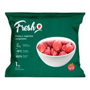 Frutilla Mediana Entera Congelada Iqf Fresh X 1kg