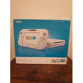 Console Nintendo Wii U Branco 8gb Novo Nunca Usado