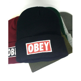 Gorros De Lana Obey X Mayor Calidad X 25 Unidades