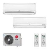 Ar Condicionado Multi Split Inverter Hi Wall 1x12000 E 1x18